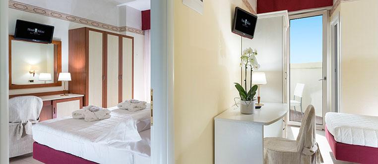 familienzimmer rimini urlaub mit kindern hotel bikini rimini. Black Bedroom Furniture Sets. Home Design Ideas